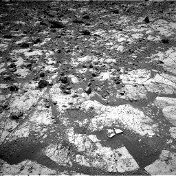 Nasa's Mars rover Curiosity acquired this image using its Left Navigation Camera on Sol 2643, at drive 1214, site number 78