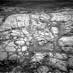 Nasa's Mars rover Curiosity acquired this image using its Left Navigation Camera on Sol 2643, at drive 1310, site number 78