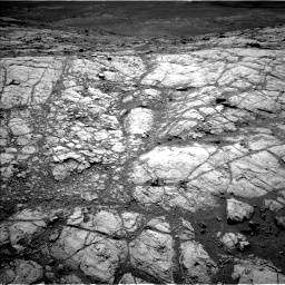 Nasa's Mars rover Curiosity acquired this image using its Left Navigation Camera on Sol 2643, at drive 1316, site number 78