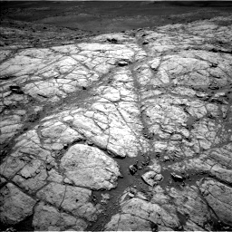 Nasa's Mars rover Curiosity acquired this image using its Left Navigation Camera on Sol 2643, at drive 1334, site number 78
