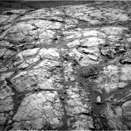 Nasa's Mars rover Curiosity acquired this image using its Left Navigation Camera on Sol 2643, at drive 1352, site number 78