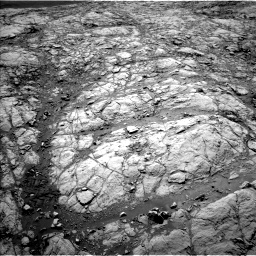 Nasa's Mars rover Curiosity acquired this image using its Left Navigation Camera on Sol 2643, at drive 1382, site number 78