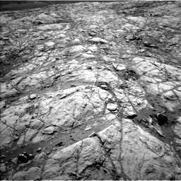 Nasa's Mars rover Curiosity acquired this image using its Left Navigation Camera on Sol 2643, at drive 1388, site number 78