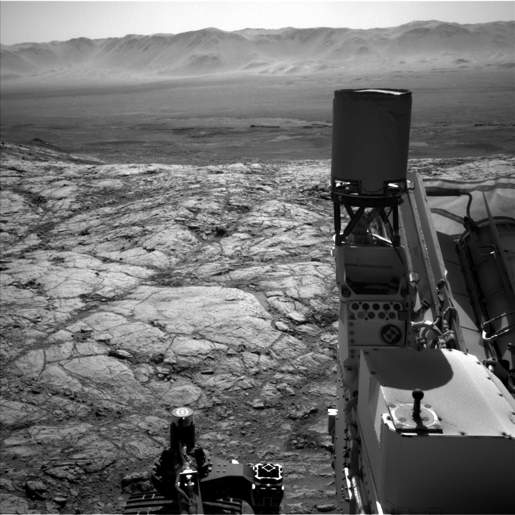 Nasa's Mars rover Curiosity acquired this image using its Left Navigation Camera on Sol 2643, at drive 1442, site number 78