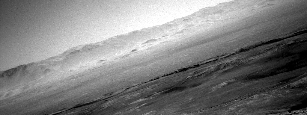 Nasa's Mars rover Curiosity acquired this image using its Right Navigation Camera on Sol 2643, at drive 1160, site number 78