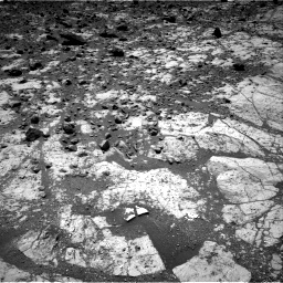 Nasa's Mars rover Curiosity acquired this image using its Right Navigation Camera on Sol 2643, at drive 1214, site number 78