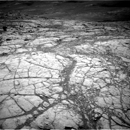 Nasa's Mars rover Curiosity acquired this image using its Right Navigation Camera on Sol 2643, at drive 1274, site number 78