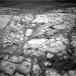 Nasa's Mars rover Curiosity acquired this image using its Right Navigation Camera on Sol 2643, at drive 1316, site number 78