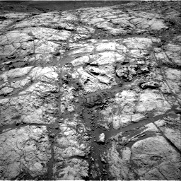 Nasa's Mars rover Curiosity acquired this image using its Right Navigation Camera on Sol 2643, at drive 1352, site number 78
