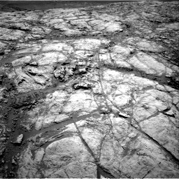 Nasa's Mars rover Curiosity acquired this image using its Right Navigation Camera on Sol 2643, at drive 1358, site number 78