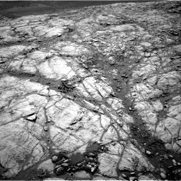 Nasa's Mars rover Curiosity acquired this image using its Right Navigation Camera on Sol 2643, at drive 1370, site number 78