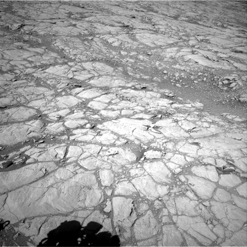 Nasa's Mars rover Curiosity acquired this image using its Right Navigation Camera on Sol 2643, at drive 1424, site number 78
