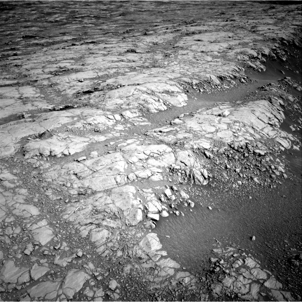 Nasa's Mars rover Curiosity acquired this image using its Right Navigation Camera on Sol 2643, at drive 1442, site number 78