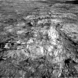 Nasa's Mars rover Curiosity acquired this image using its Left Navigation Camera on Sol 2645, at drive 1532, site number 78