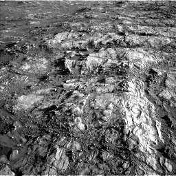 Nasa's Mars rover Curiosity acquired this image using its Left Navigation Camera on Sol 2645, at drive 1544, site number 78