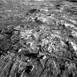 Nasa's Mars rover Curiosity acquired this image using its Left Navigation Camera on Sol 2645, at drive 1580, site number 78