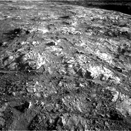 Nasa's Mars rover Curiosity acquired this image using its Left Navigation Camera on Sol 2645, at drive 1598, site number 78