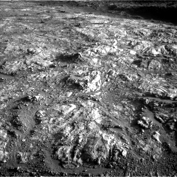 Nasa's Mars rover Curiosity acquired this image using its Left Navigation Camera on Sol 2645, at drive 1628, site number 78