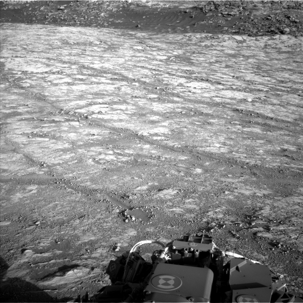 Nasa's Mars rover Curiosity acquired this image using its Left Navigation Camera on Sol 2645, at drive 1652, site number 78