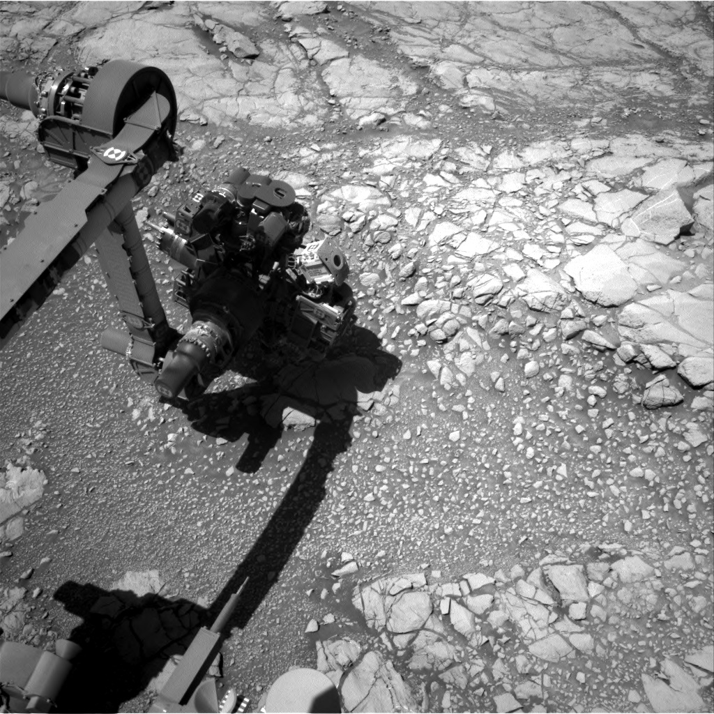 Nasa's Mars rover Curiosity acquired this image using its Right Navigation Camera on Sol 2645, at drive 1442, site number 78