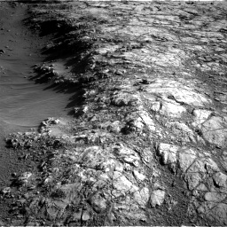 Nasa's Mars rover Curiosity acquired this image using its Right Navigation Camera on Sol 2645, at drive 1448, site number 78