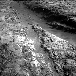 Nasa's Mars rover Curiosity acquired this image using its Right Navigation Camera on Sol 2645, at drive 1472, site number 78