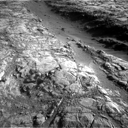 Nasa's Mars rover Curiosity acquired this image using its Right Navigation Camera on Sol 2645, at drive 1478, site number 78