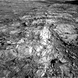 Nasa's Mars rover Curiosity acquired this image using its Right Navigation Camera on Sol 2645, at drive 1532, site number 78