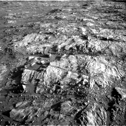 Nasa's Mars rover Curiosity acquired this image using its Right Navigation Camera on Sol 2645, at drive 1556, site number 78