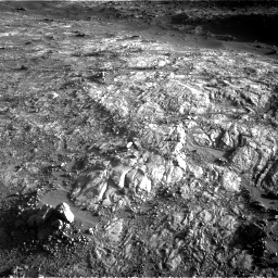 Nasa's Mars rover Curiosity acquired this image using its Right Navigation Camera on Sol 2645, at drive 1646, site number 78
