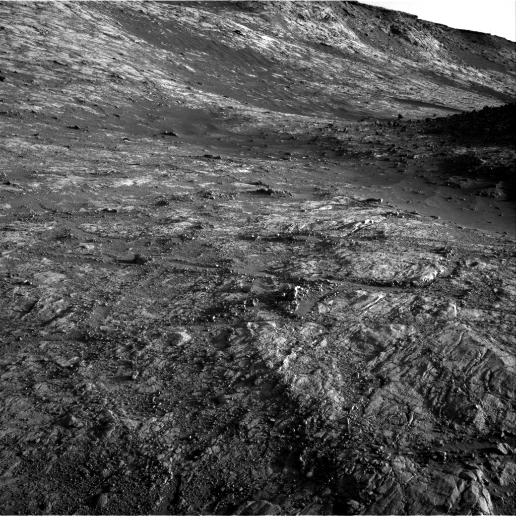 Nasa's Mars rover Curiosity acquired this image using its Right Navigation Camera on Sol 2645, at drive 1652, site number 78