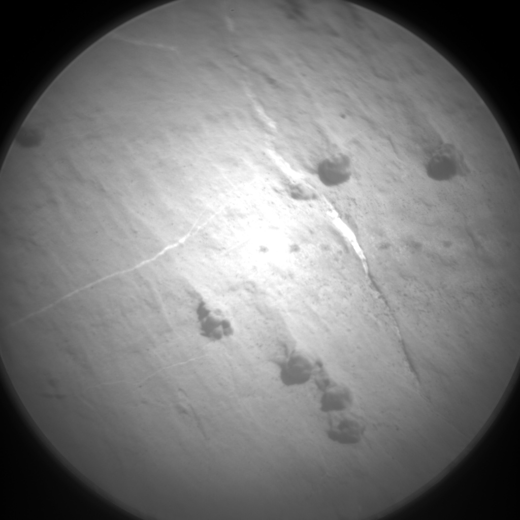 Nasa's Mars rover Curiosity acquired this image using its Chemistry & Camera (ChemCam) on Sol 2653, at drive 1652, site number 78