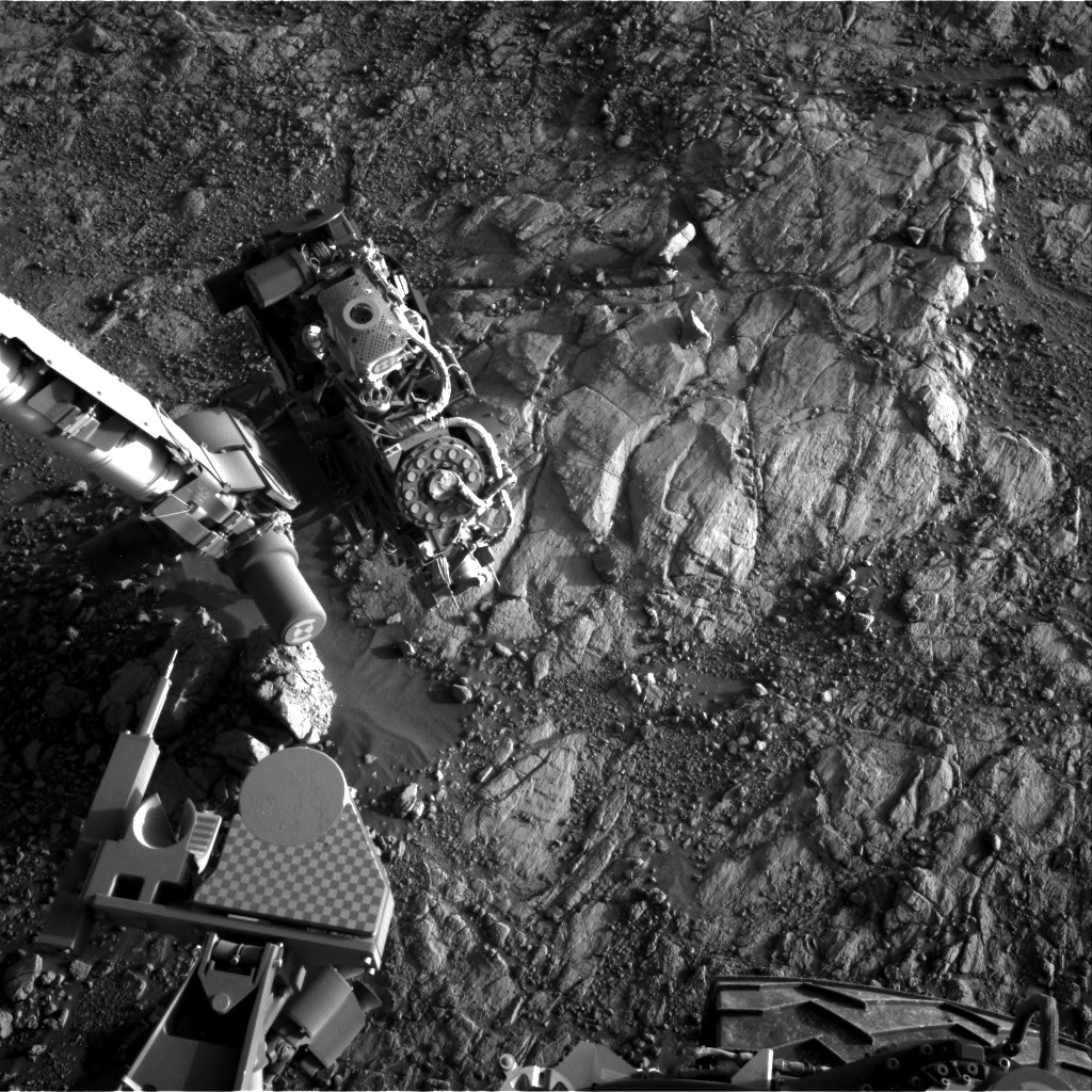 Nasa's Mars rover Curiosity acquired this image using its Right Navigation Camera on Sol 2653, at drive 1652, site number 78