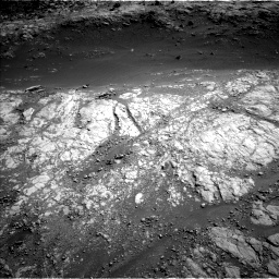 Nasa's Mars rover Curiosity acquired this image using its Left Navigation Camera on Sol 2654, at drive 1700, site number 78