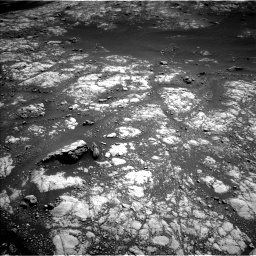 Nasa's Mars rover Curiosity acquired this image using its Left Navigation Camera on Sol 2654, at drive 1814, site number 78