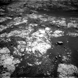 Nasa's Mars rover Curiosity acquired this image using its Left Navigation Camera on Sol 2654, at drive 1856, site number 78