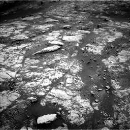 Nasa's Mars rover Curiosity acquired this image using its Left Navigation Camera on Sol 2654, at drive 1874, site number 78