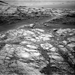 Nasa's Mars rover Curiosity acquired this image using its Right Navigation Camera on Sol 2654, at drive 1664, site number 78
