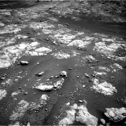 Nasa's Mars rover Curiosity acquired this image using its Right Navigation Camera on Sol 2654, at drive 1832, site number 78