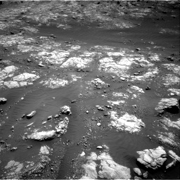 Nasa's Mars rover Curiosity acquired this image using its Right Navigation Camera on Sol 2654, at drive 1844, site number 78