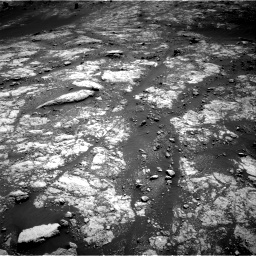 Nasa's Mars rover Curiosity acquired this image using its Right Navigation Camera on Sol 2654, at drive 1874, site number 78