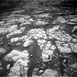Nasa's Mars rover Curiosity acquired this image using its Right Navigation Camera on Sol 2654, at drive 1910, site number 78