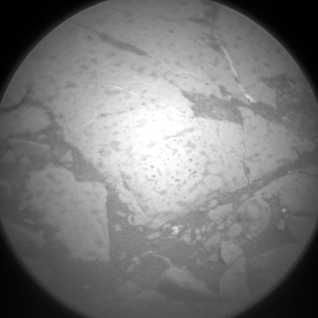 Nasa's Mars rover Curiosity acquired this image using its Chemistry & Camera (ChemCam) on Sol 2655, at drive 1946, site number 78