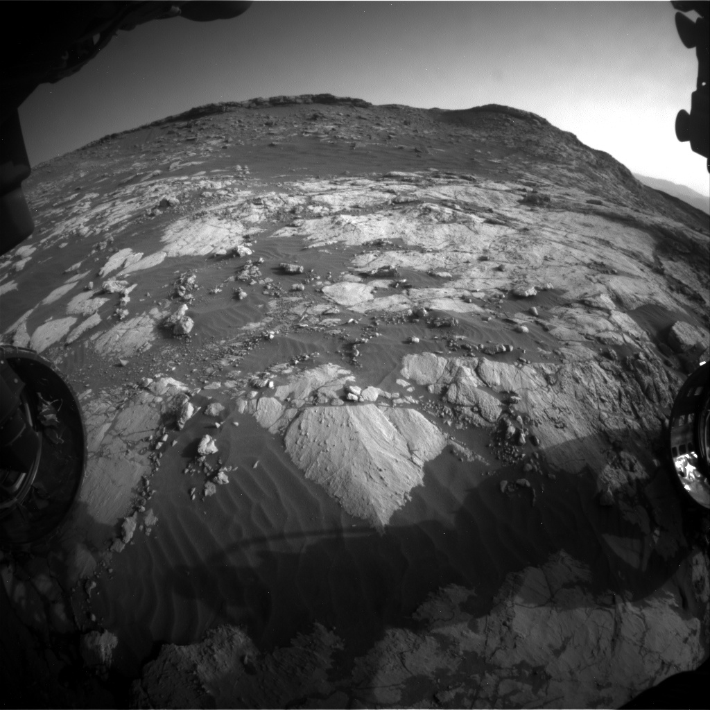 Nasa's Mars rover Curiosity acquired this image using its Front Hazard Avoidance Camera (Front Hazcam) on Sol 2657, at drive 2228, site number 78
