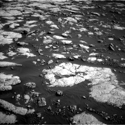 Nasa's Mars rover Curiosity acquired this image using its Left Navigation Camera on Sol 2657, at drive 2030, site number 78