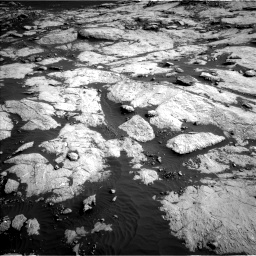 Nasa's Mars rover Curiosity acquired this image using its Left Navigation Camera on Sol 2657, at drive 2150, site number 78