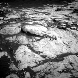 Nasa's Mars rover Curiosity acquired this image using its Left Navigation Camera on Sol 2657, at drive 2186, site number 78