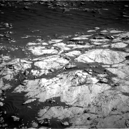 Nasa's Mars rover Curiosity acquired this image using its Left Navigation Camera on Sol 2657, at drive 2222, site number 78