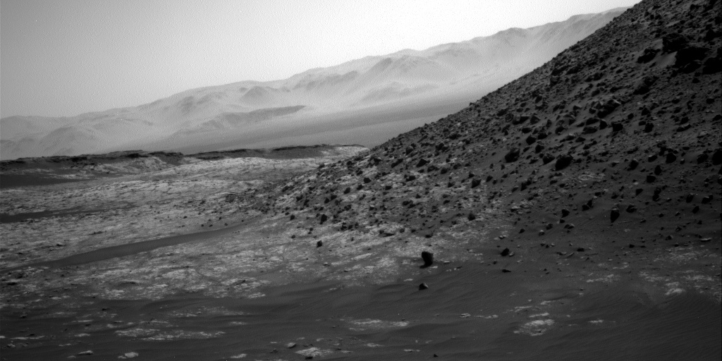 Nasa's Mars rover Curiosity acquired this image using its Right Navigation Camera on Sol 2657, at drive 1946, site number 78