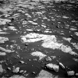 Nasa's Mars rover Curiosity acquired this image using its Right Navigation Camera on Sol 2657, at drive 2024, site number 78